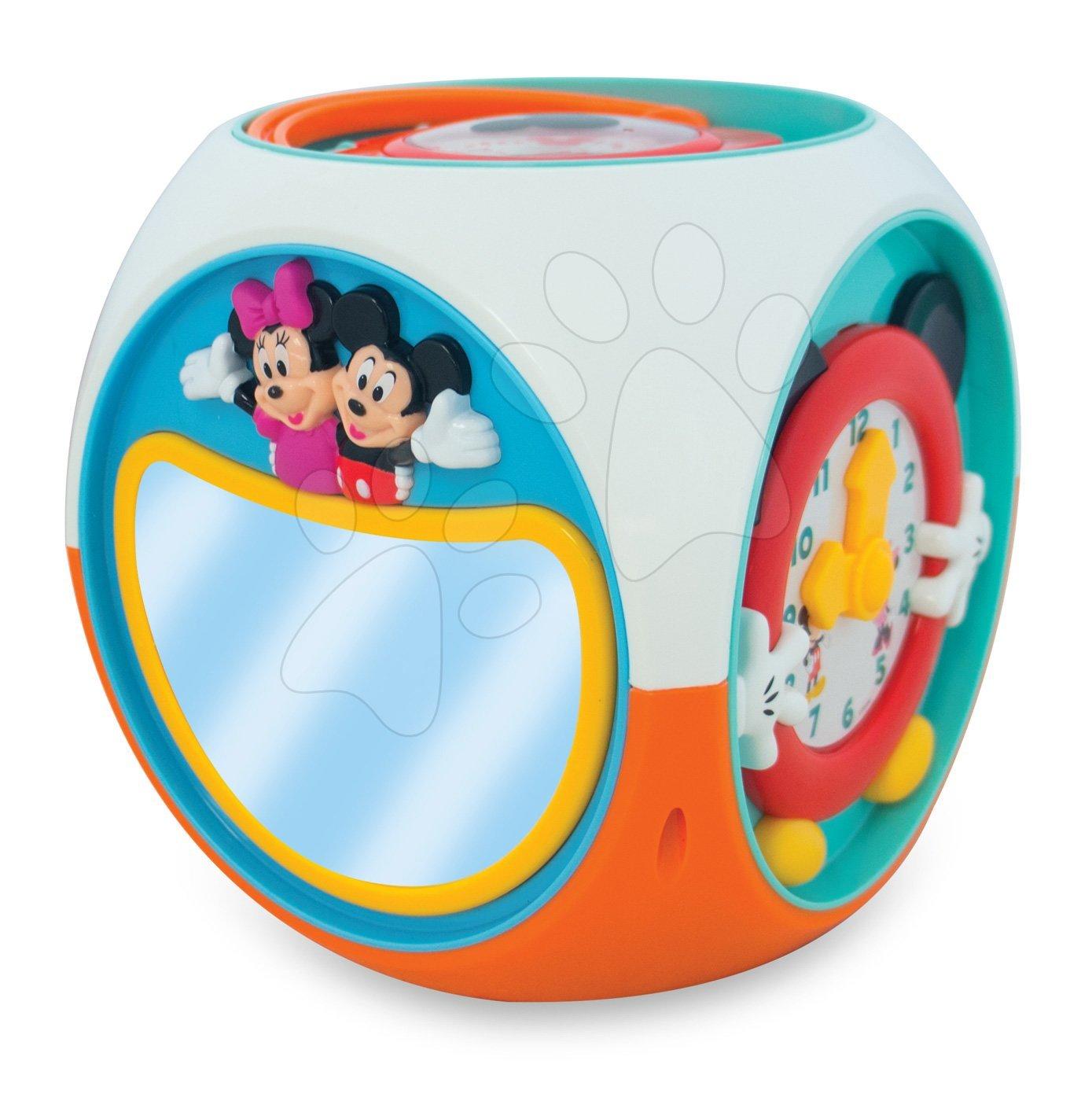 Interaktivna kocka Mickey Mouse Kiddieland z zvoki in lučko od 12 mes