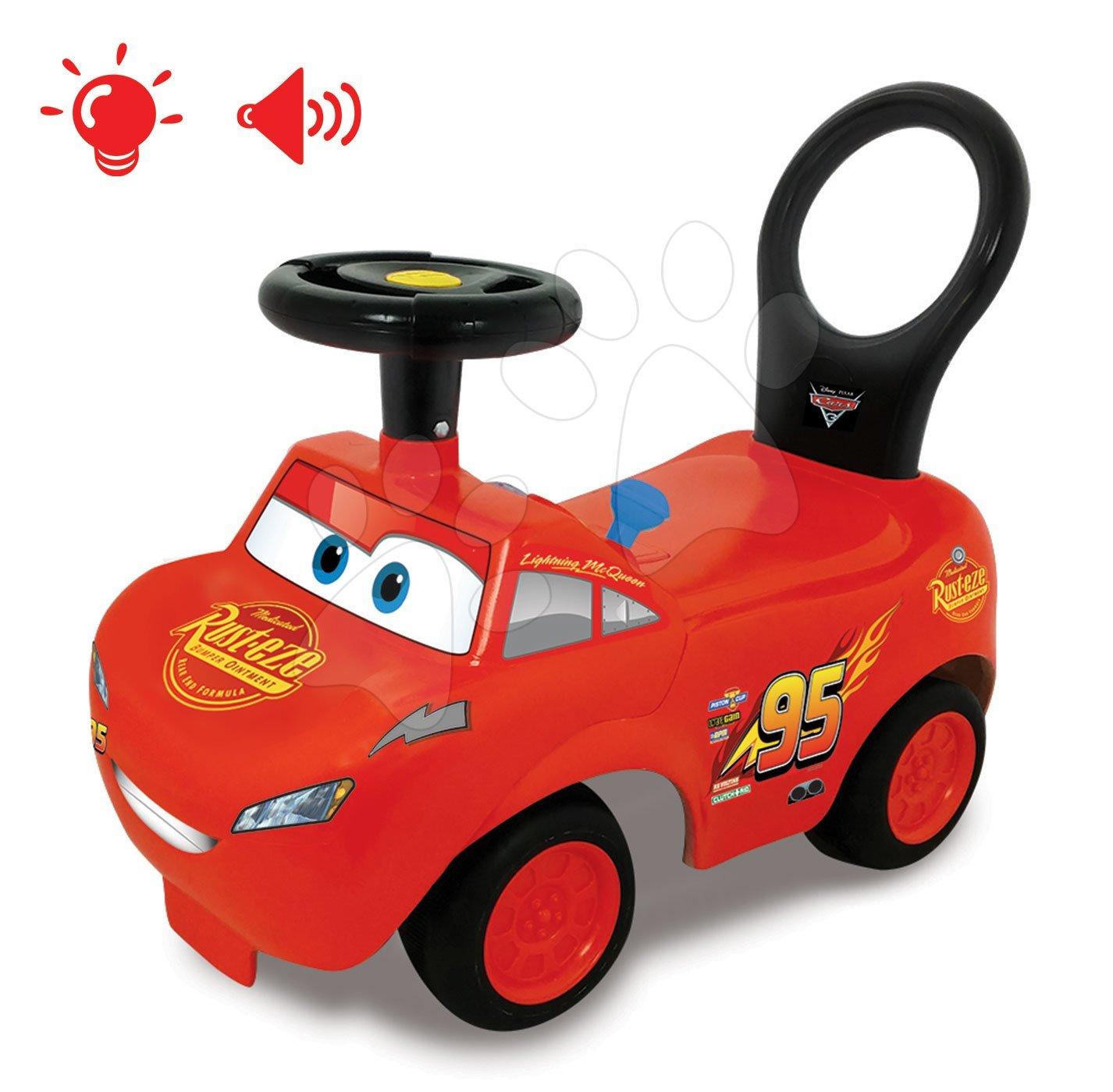 Odrážadlo McQueen Cars Kiddieland so zvukom a svetlom od 12 mes