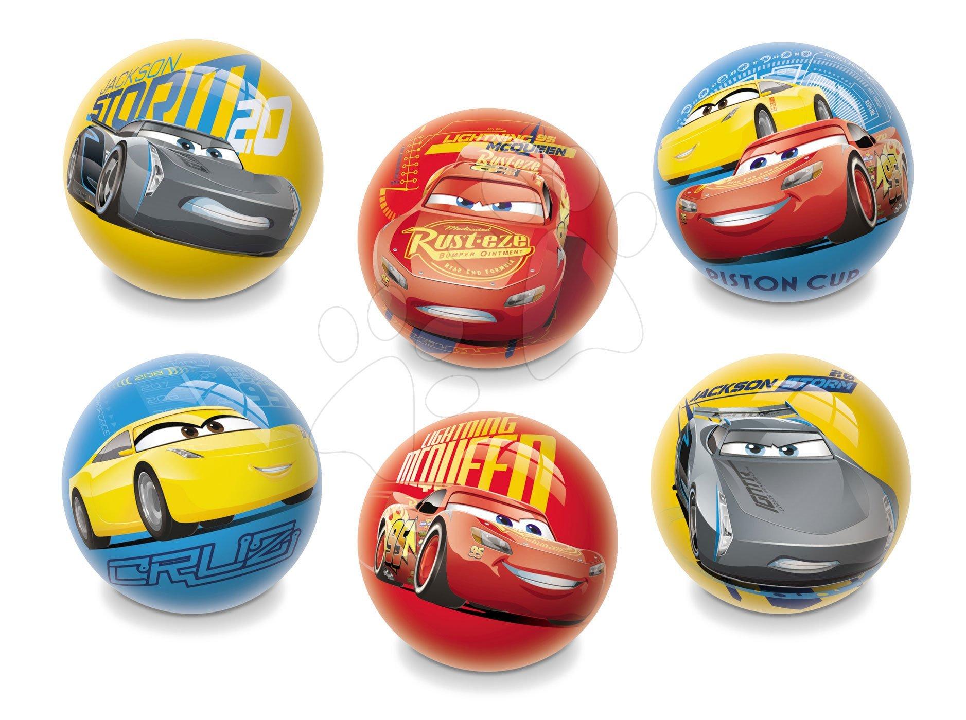 Pohádkový míč Auta Mondo 6 cm