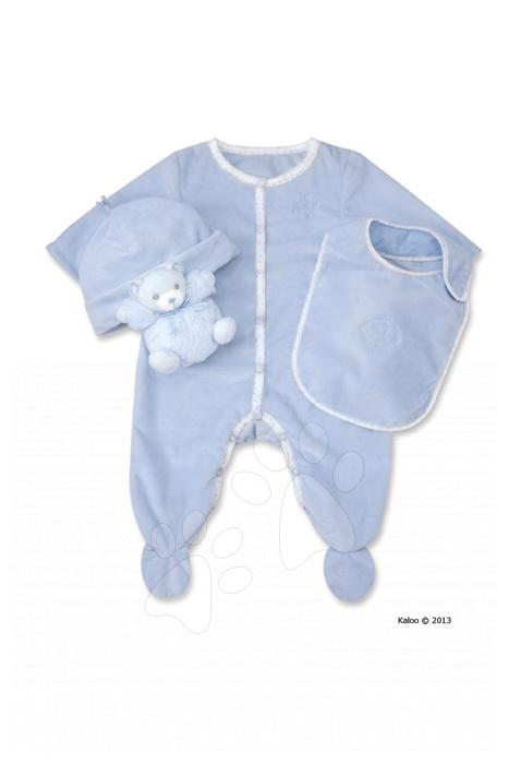 Dojčenské súpravy - Súprava doplnkov pre najmenších Perle-Gift Set Kaloo modrá od 0 mesiacov