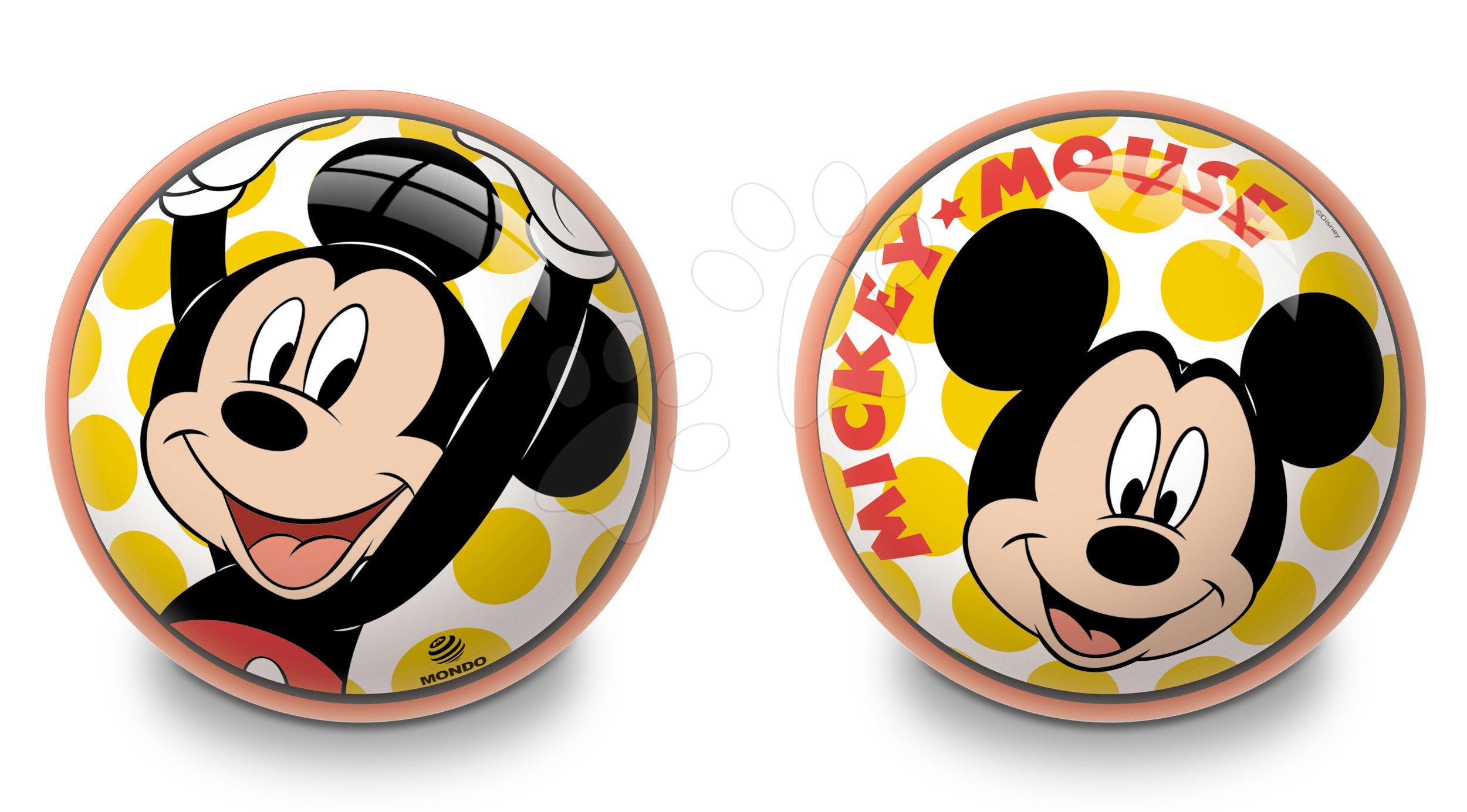 Rozprávkové lopty - Rozprávková lopta Mickey Mondo gumená 23 cm