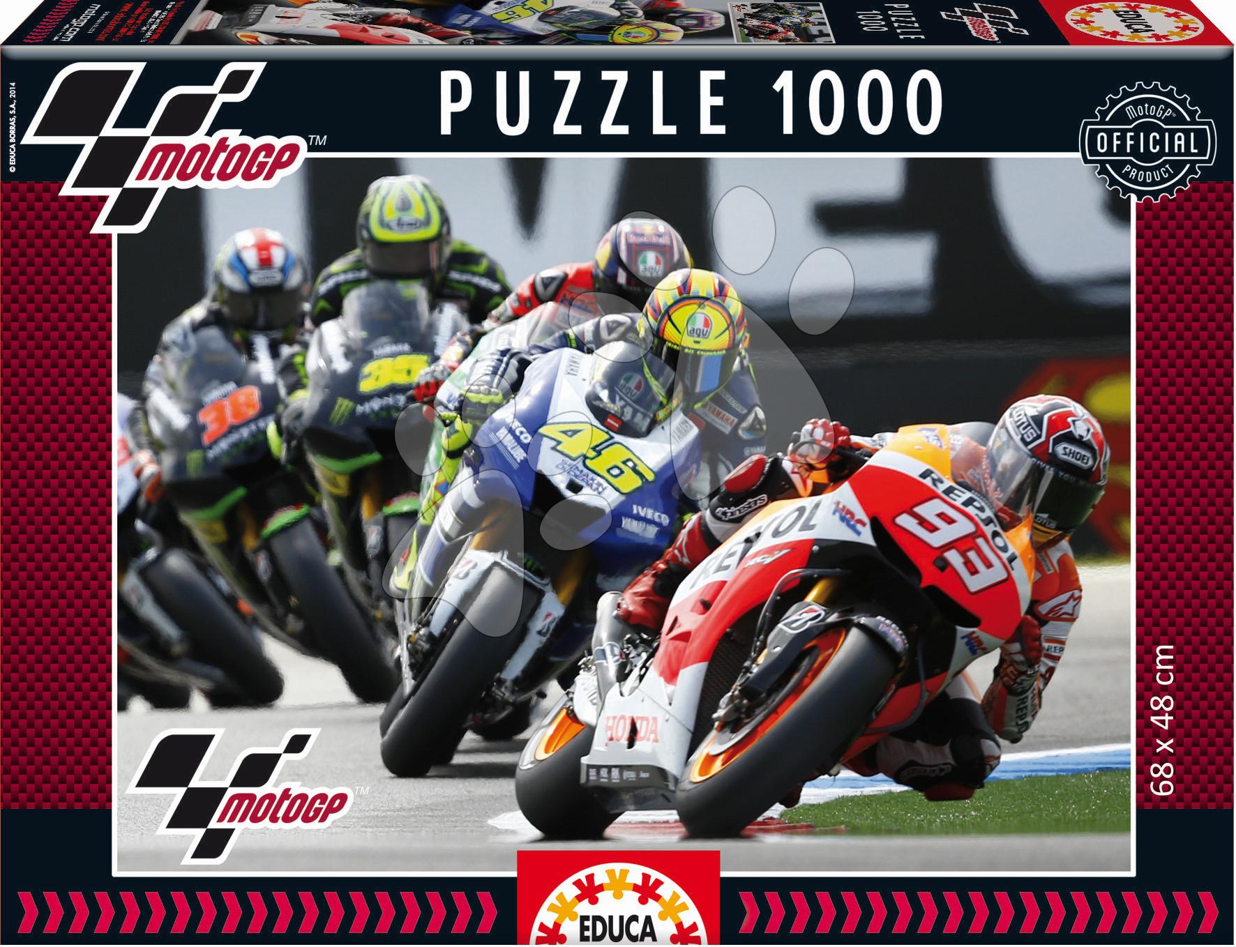 Puzzle MotoGP Educa 1000 dílů od 12 let