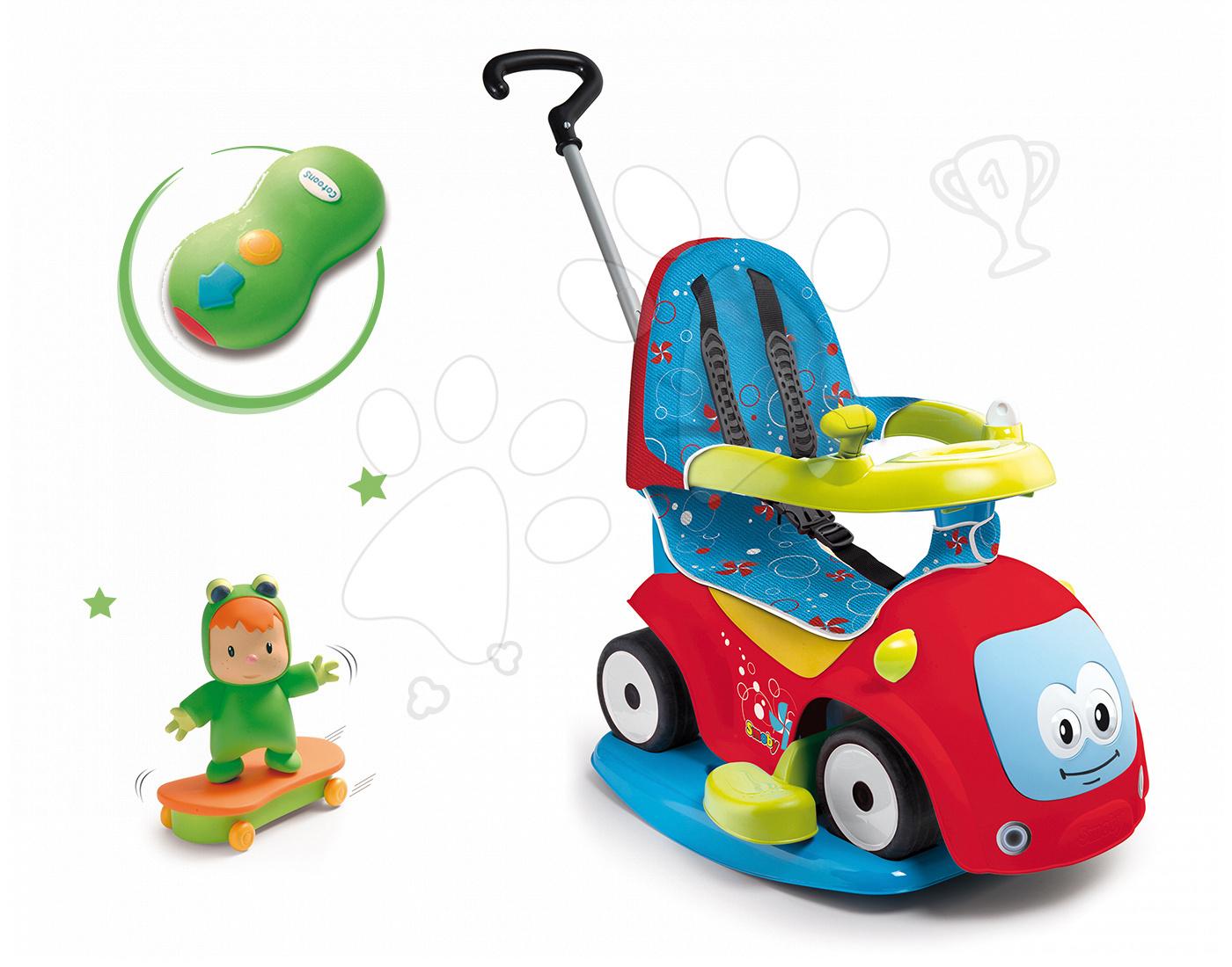 Set babytaxiu Maestro Confort Smoby cu leagăn şi figurină Cotoons cu telecomandă de la 6 luni