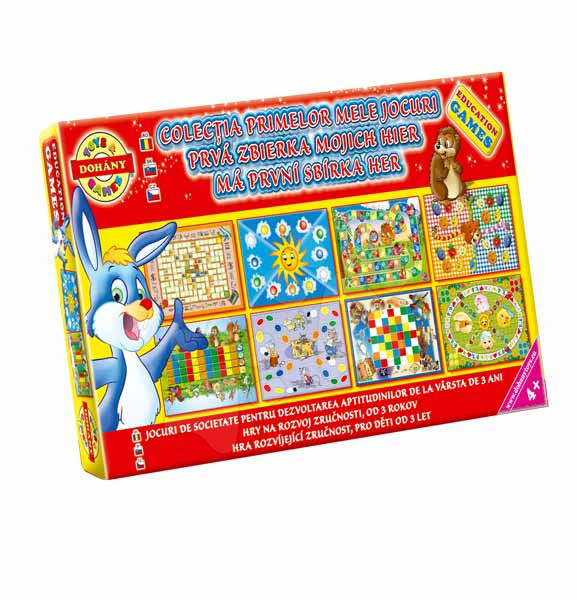 Spoločenské hry pre deti - Sada Moje prvé rozprávkové spoločenské hry Dohány od 4 rokov