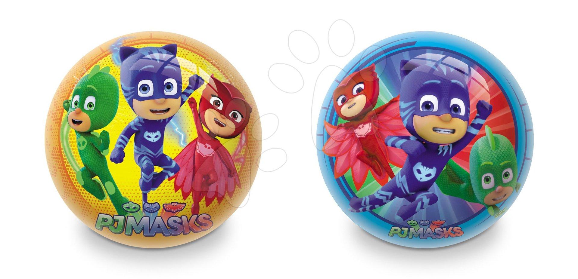 Gumová rozprávková lopta PJ Masks Mondo 23 cm modrá