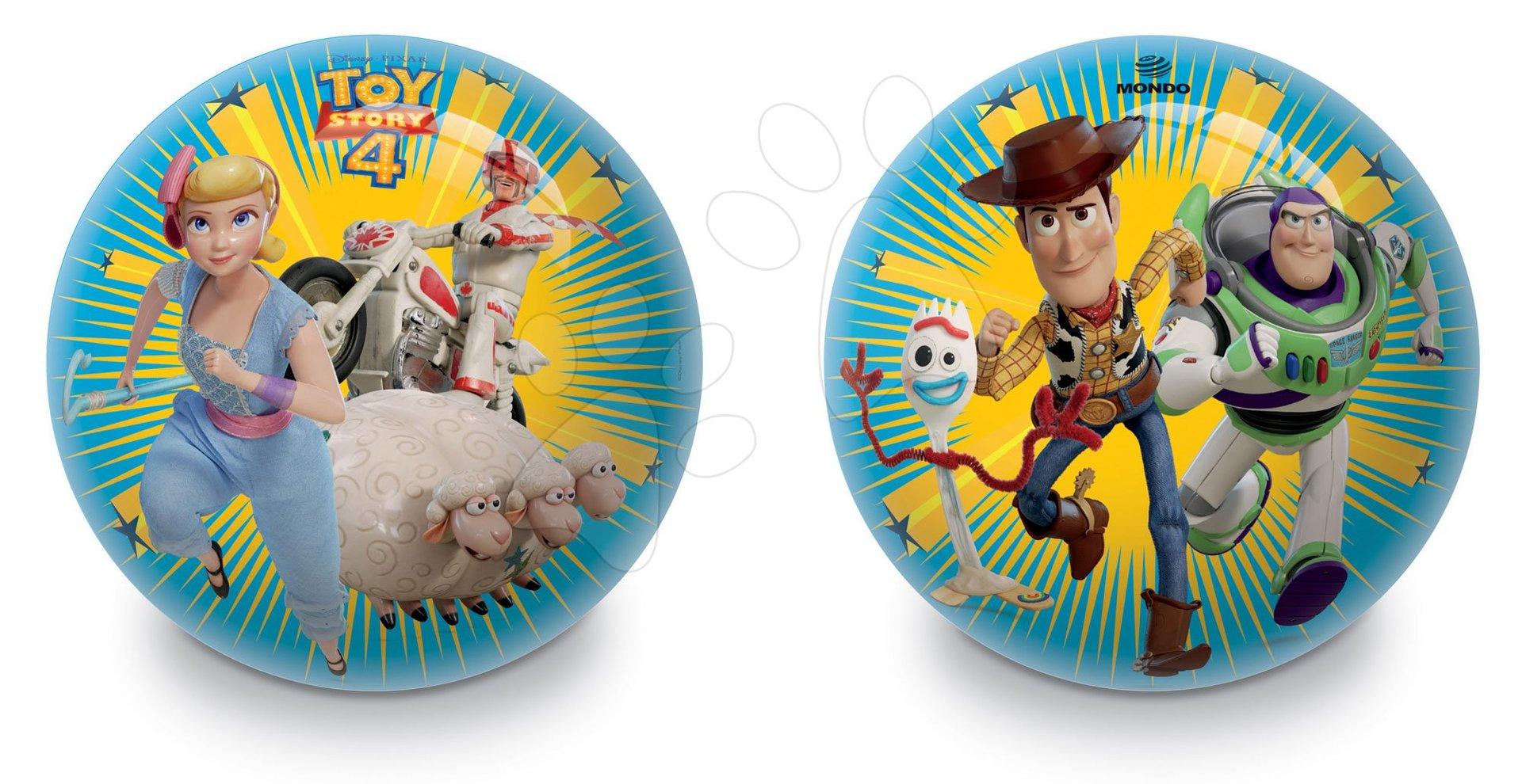 Rozprávkové lopty - Gumová rozprávková lopta Toy Story Mondo 23 cm