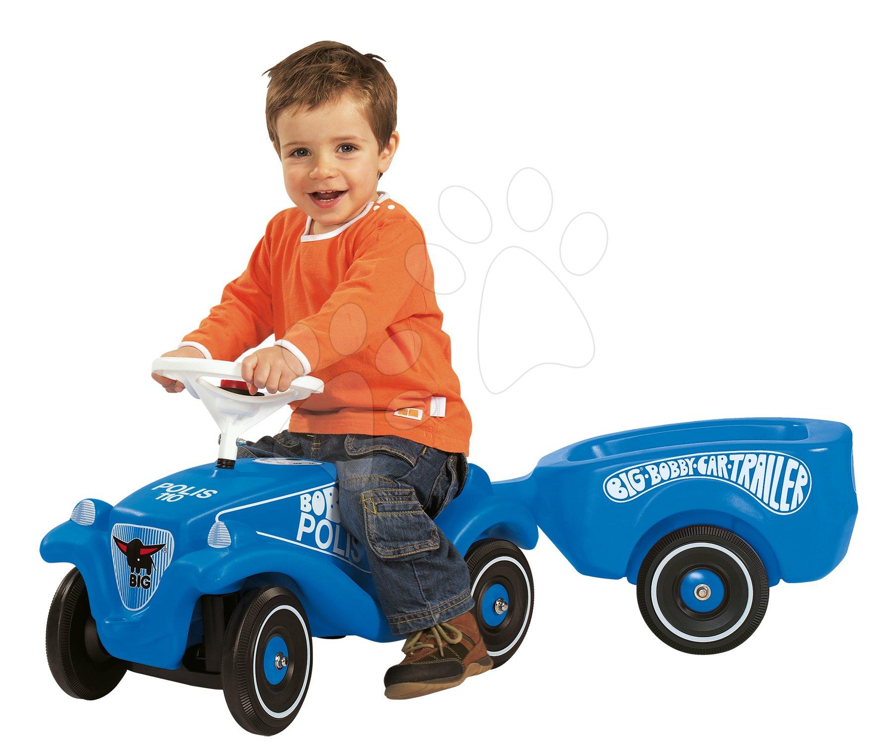Přívěsný vozík BIG modrý k odrážedlům BIG od 12 měsíců