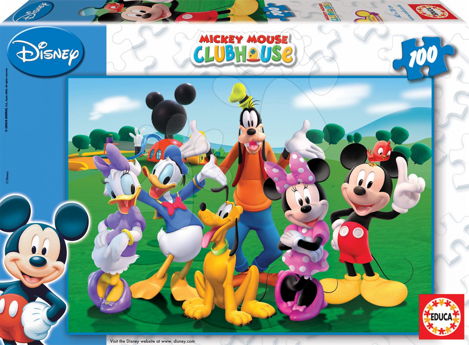 Puzzle Mickey Mouse Educa 100 dielov od 5 rokov