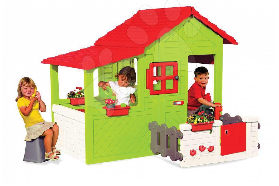 Domeček Maison Floralie HouseSmoby 14 doplňků od 3 let
