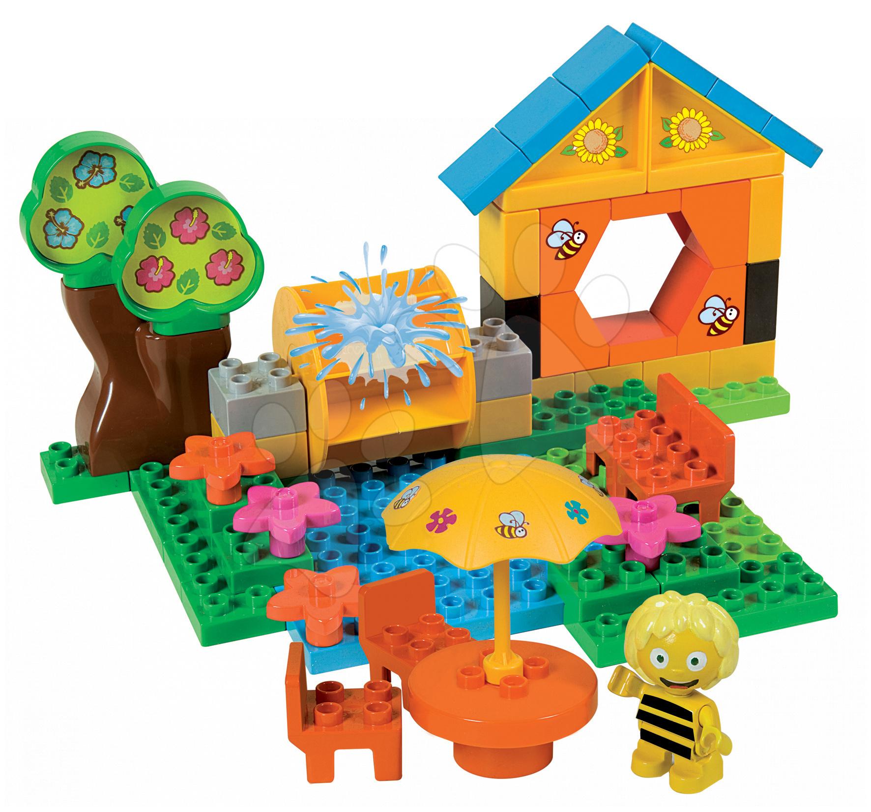 Stavebnice BIG-Bloxx ako lego - Stavebnica PlayBIG Bloxx BIG Včielka Maja na chate 59 dielov od 18 mes
