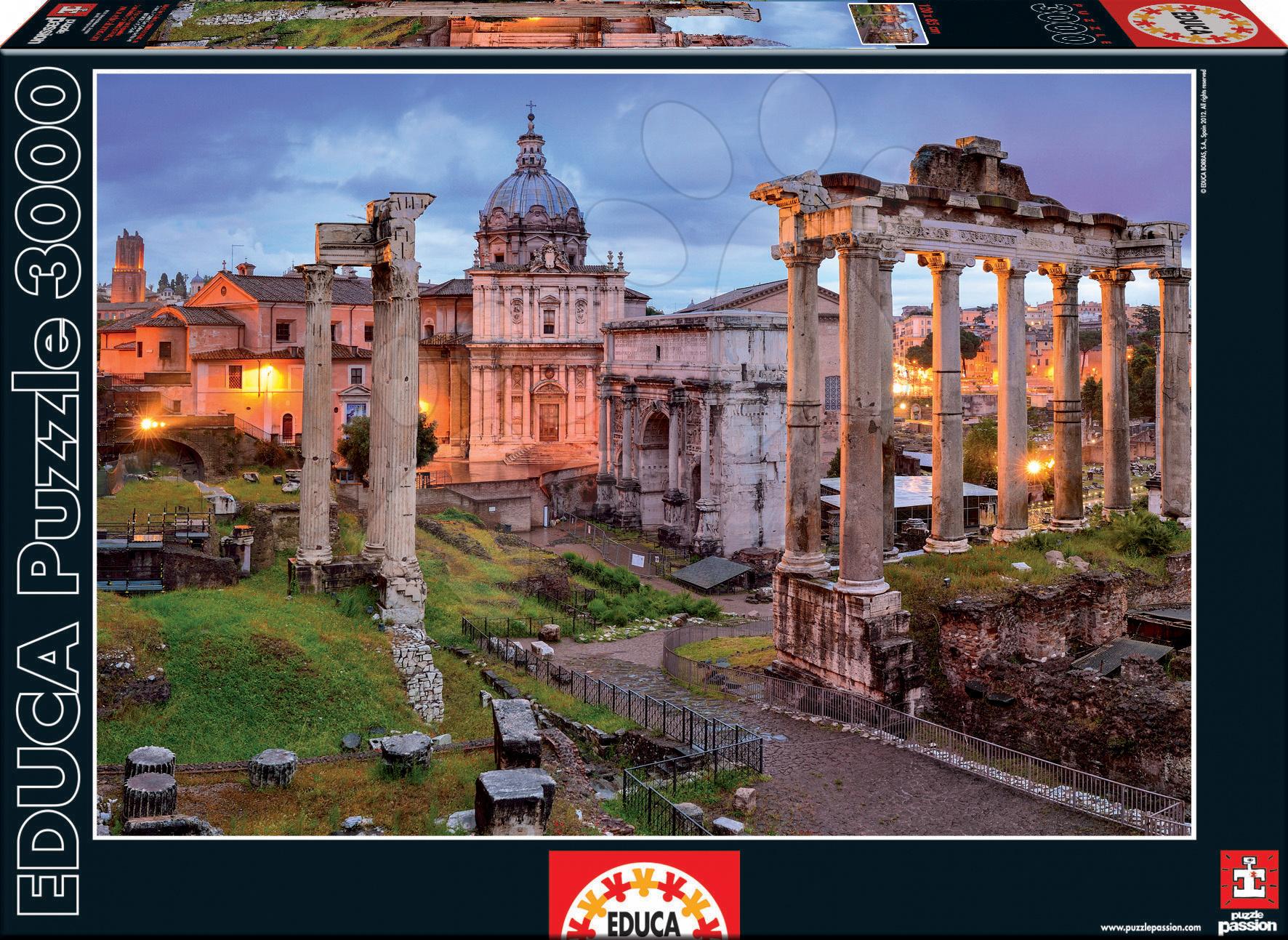 Puzzle Forum Romanum Educa 3000 dielov