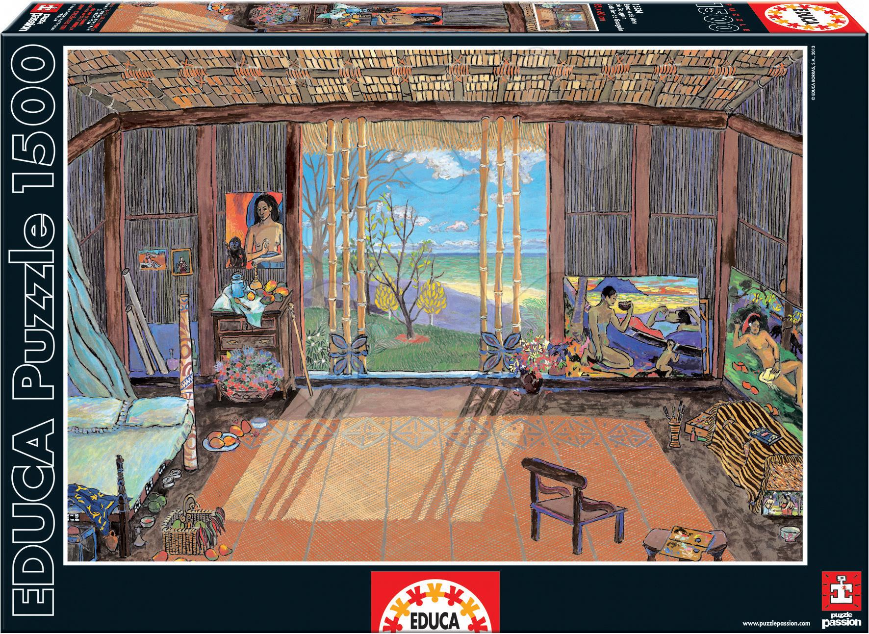 Puzzle 1500 dielne - Puzzle Studio, Paul Gauguin Educa 1500 dielov