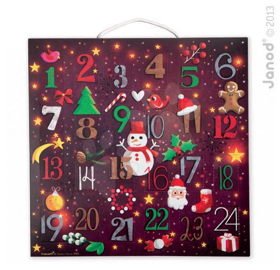 Adventní kalendář puzzle Janod od 4 let