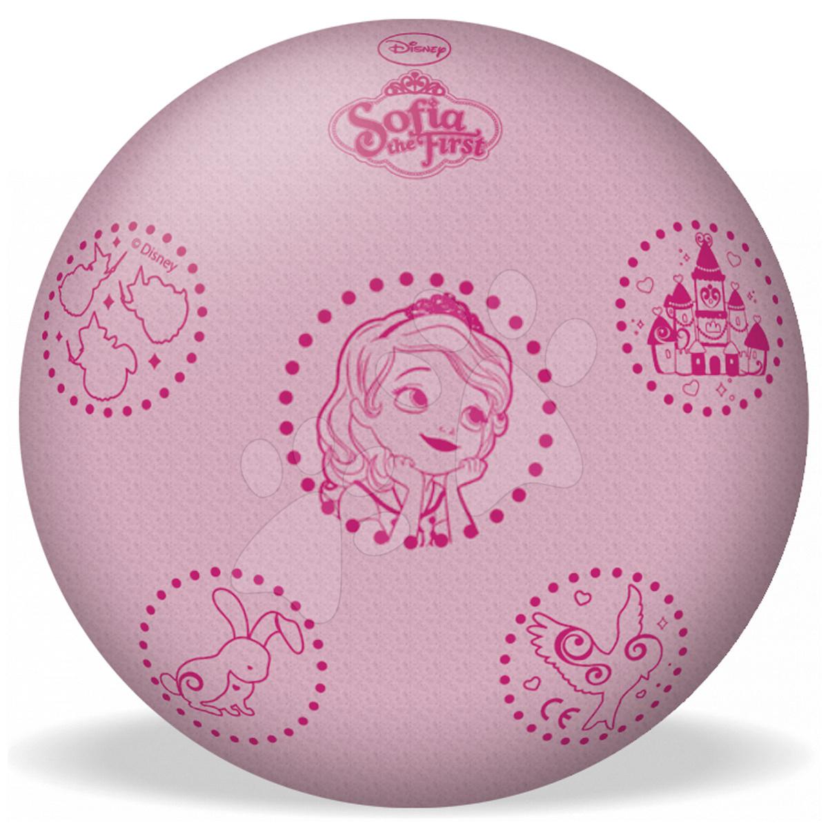 Penové lopty - Penová lopta Sofia Prvá Mondo 20 cm ružová od 24 mes