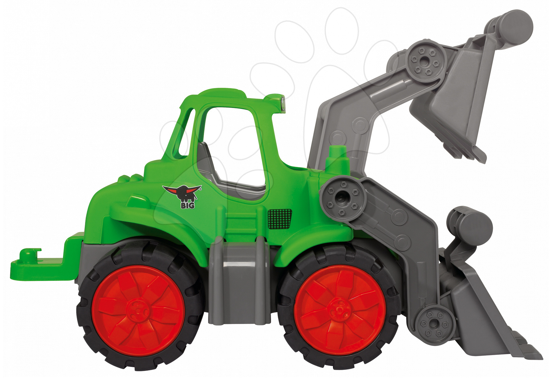 Auta do písku - Traktor Maxi Bolid Smoby délka 46 cm