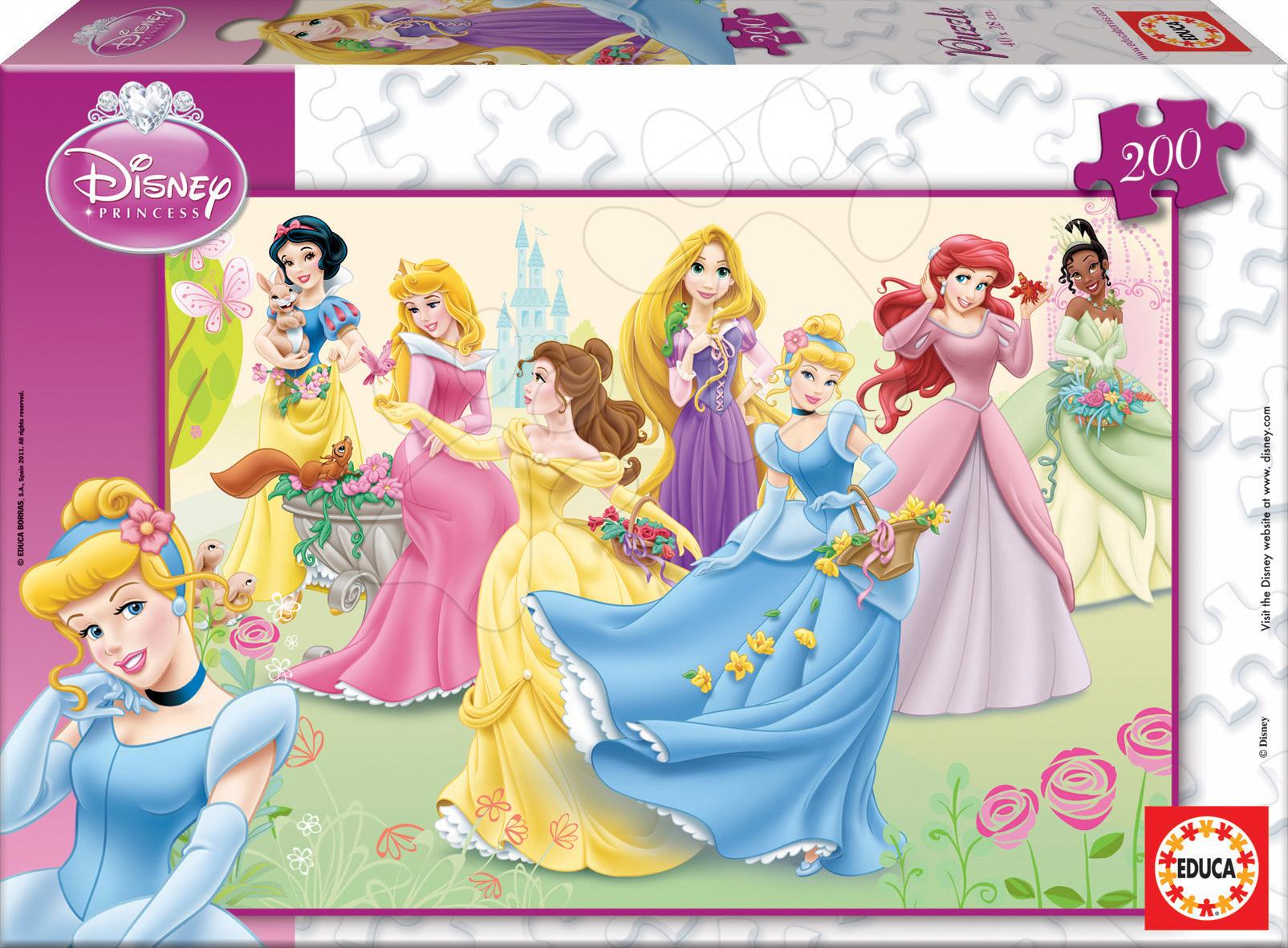 Puzzle Disney Princezné Educa 200 dielov od 6 rokov