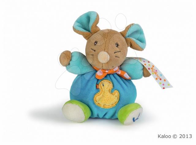 Plyšová myška Colors-Mini Chubbies Duck Kaloo 12 cm v dárkovém balení pro nejmenší