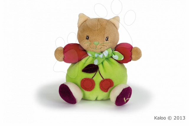 Plyšové zvieratká - Plyšová mačička Colors-Mini Chubbies Cherry Kaloo 12 cm v darčekovom balení pre najmenších