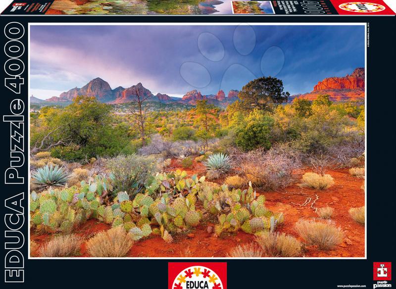 Puzzle Red Rock Dusk Educa 4000 dílů od 15 let