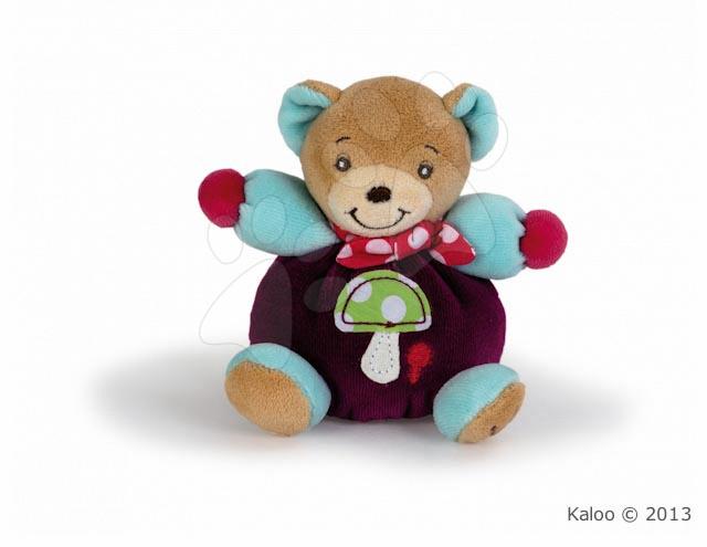 Plyšový medvídek Colors-Mini Chubbies Mushroom Kaloo 12 cm v dárkovém balení pro nejmenší