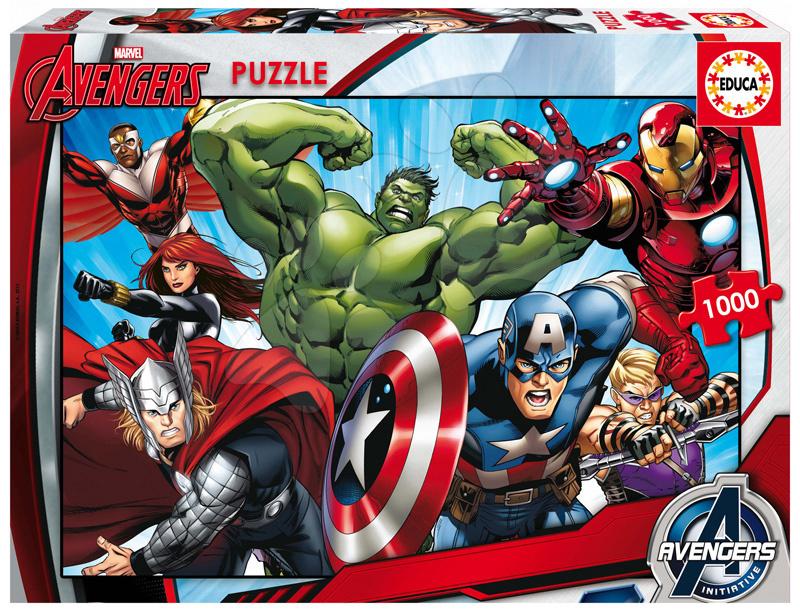 Puzzle Marvel Avengers Educa 1000 dílů od 12 let
