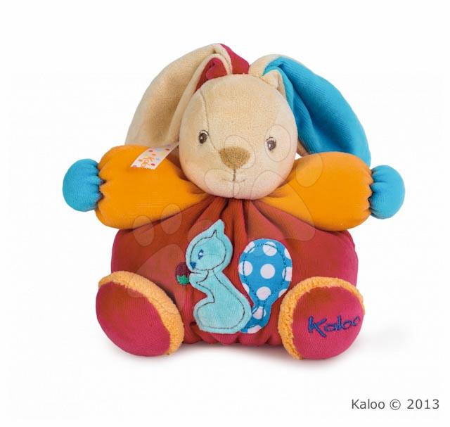 Plyšový králíček Colors-Chubby Rabbit Squirrel Kaloo 18 cm v dárkovém balení pro nejmenší