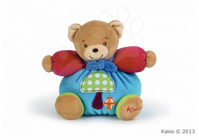 Plyšový medvídek Colors-Chubby Bear Mushroom Kaloo 18 cm v dárkovém balení pro nejmenší