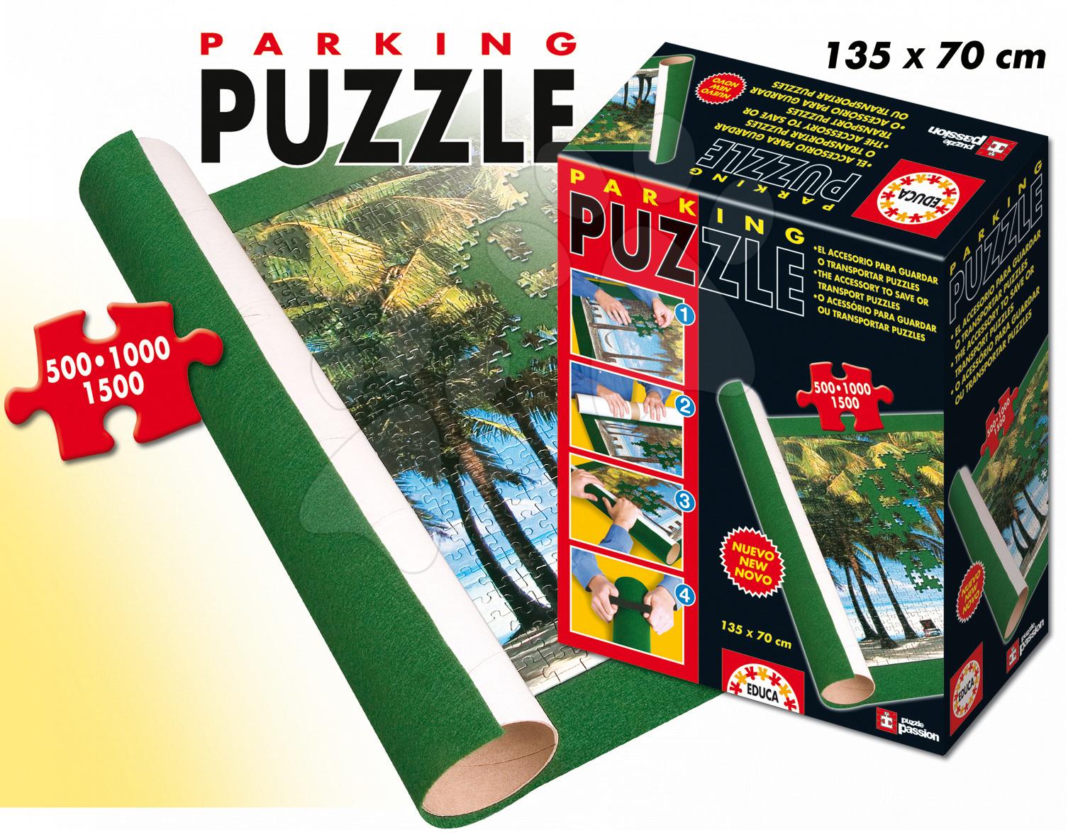 Rolovací podložka pod puzzle Educa 135*70 cm od 11 let