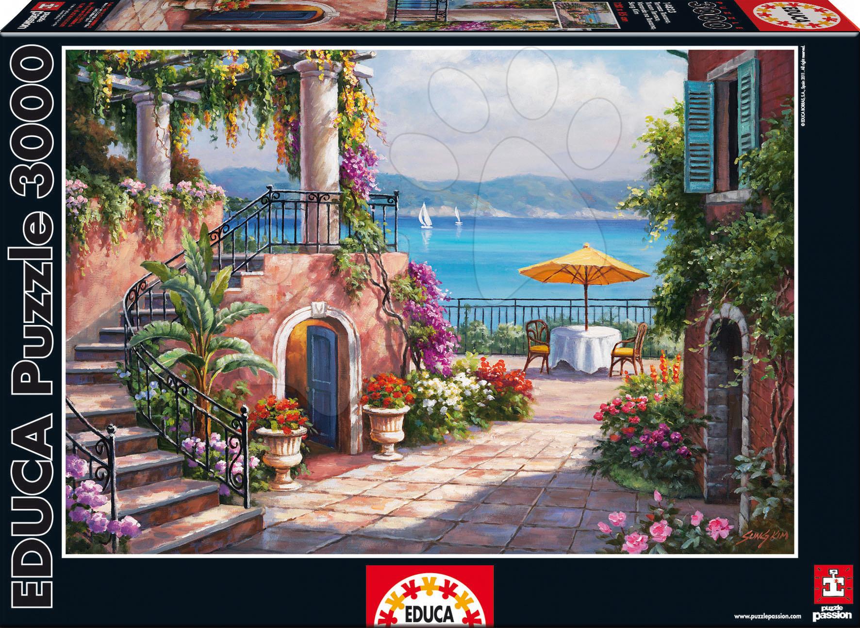 Puzzle Tuscan Terrace Educa 3000 dielov