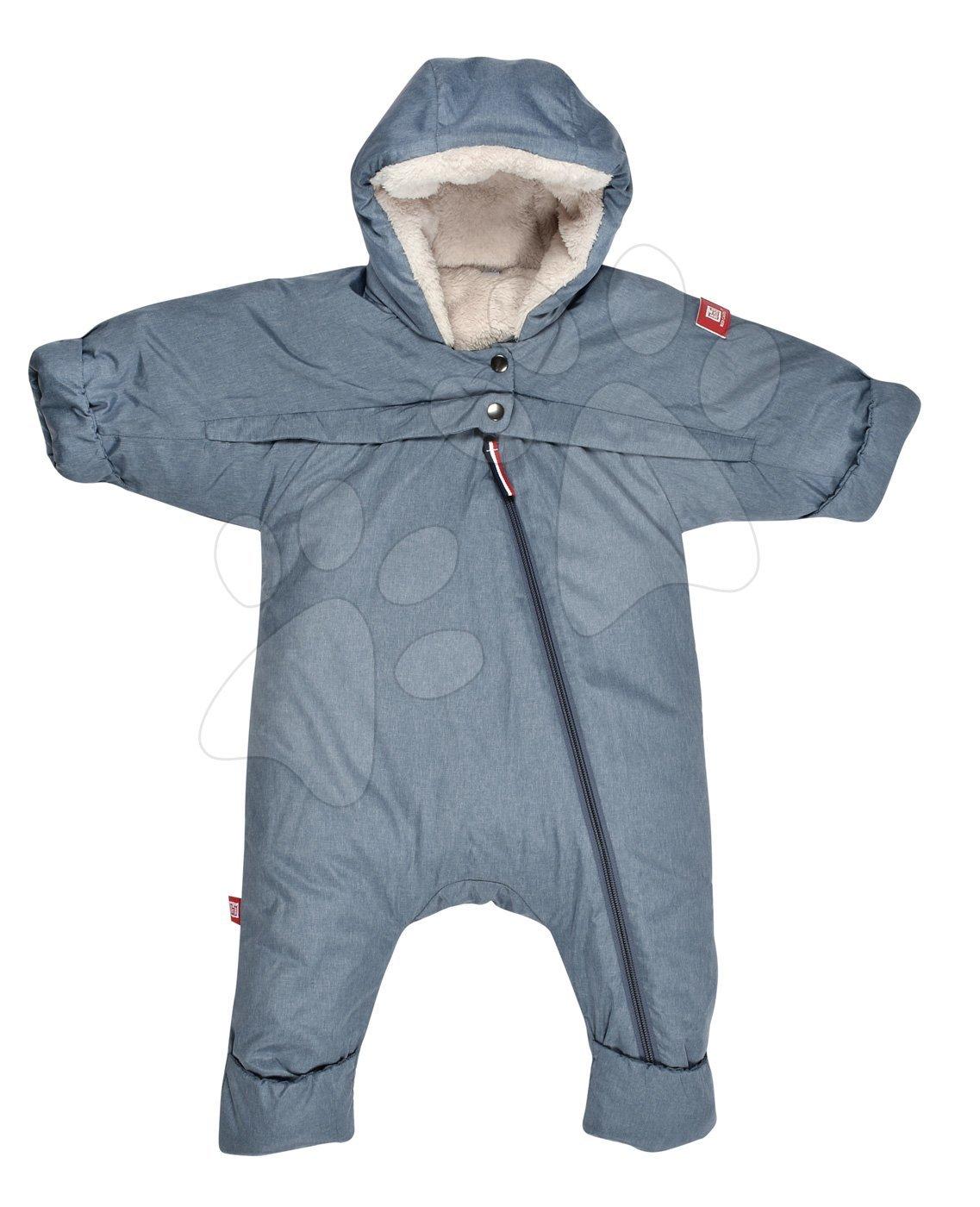 Dojčenské kombinézy - Dojčenská kombinéza overal Red Castle Tenderness T-zip od 0-6 mesiacov teplá vzdušná vodeodolná modrá