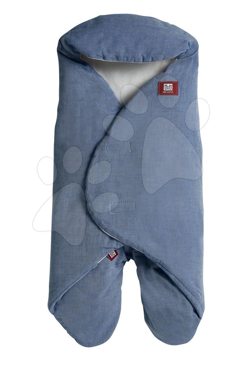 Zavinovačka Red Castle Babynomade® Chambray bavlna modrá od 0-6 mesiacov