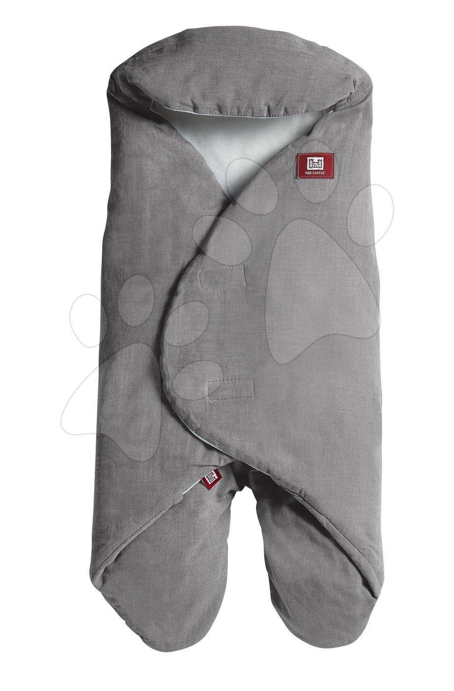 Zavinovačka Red Castle Babynomade® Chambray bavlna šedá od 0 měsíců