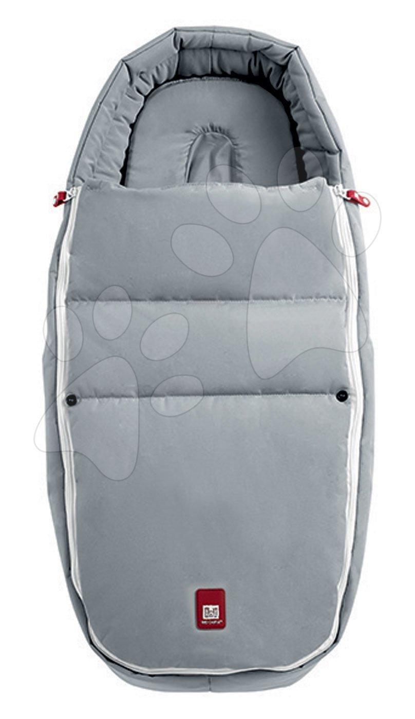 Fusak do kočárku Baby Cocoon CityLink® III Red Castle šedý, kompatibilní pro většinu kočárků od 0 měsíců