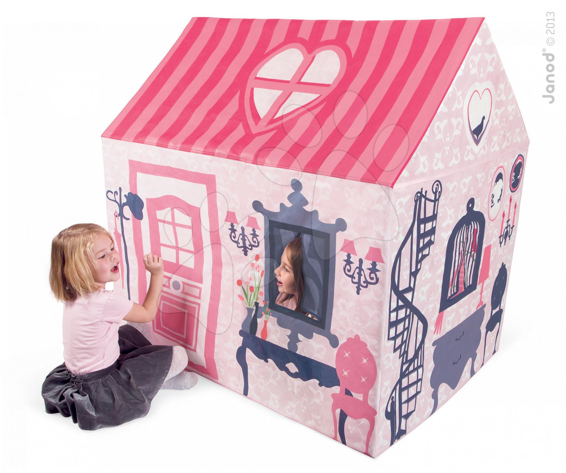 Domeček Mademoiselle House Janod textilní
