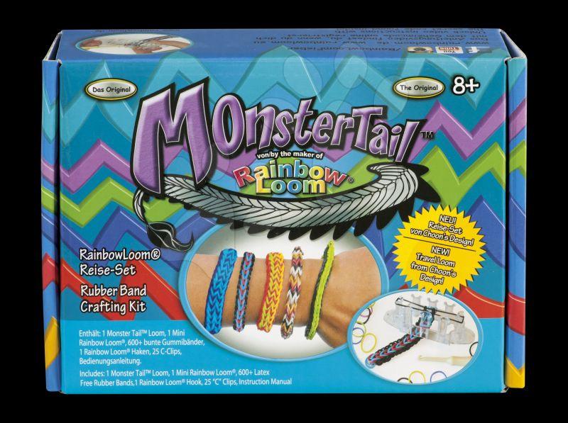 Rainbow Loom základné sady - Cestovný set Monster Tail Rainbow Loom od 8 rokov