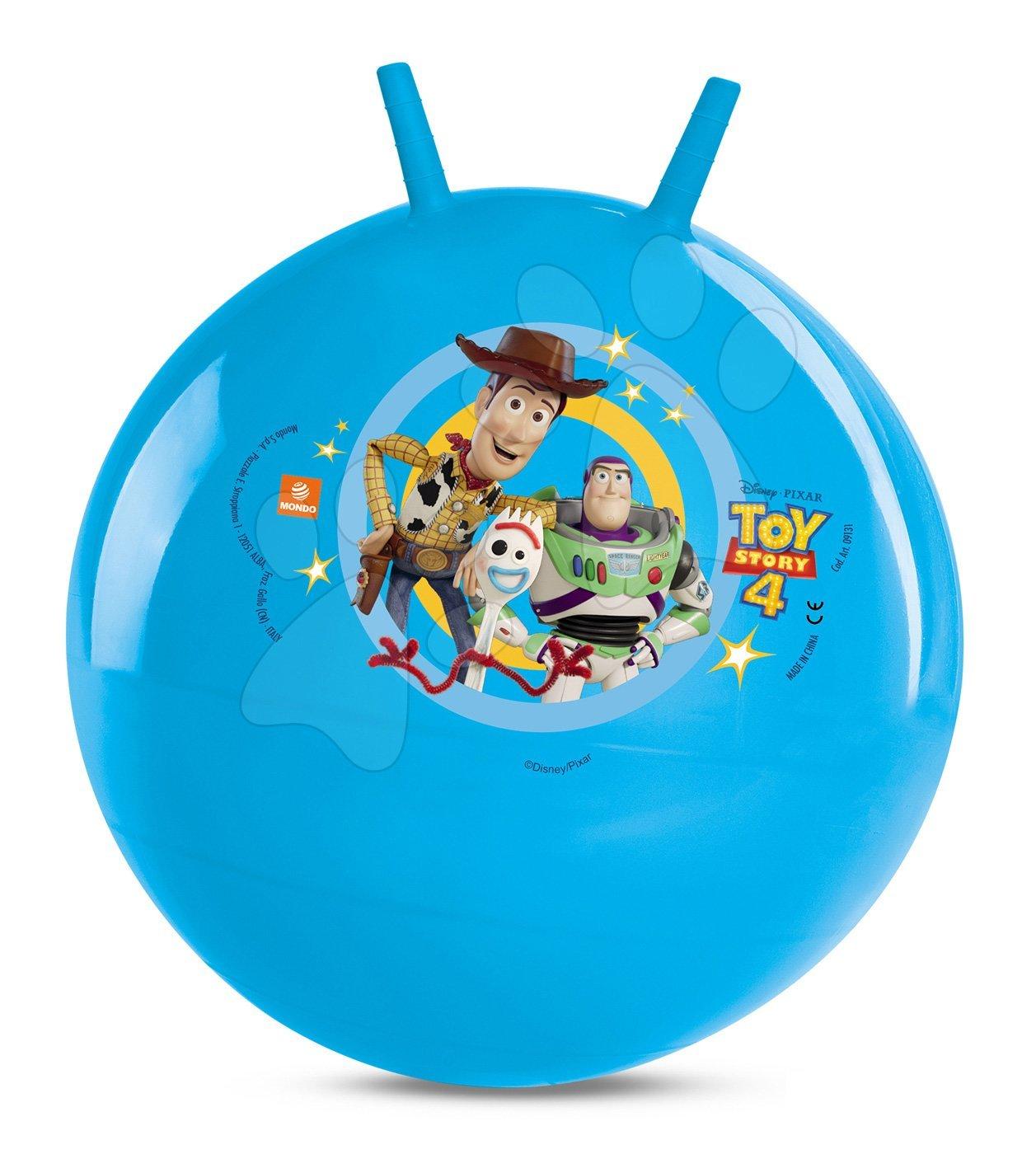 Lopta na skákanie Kangaroo Toy Story Mondo 50 cm modrá