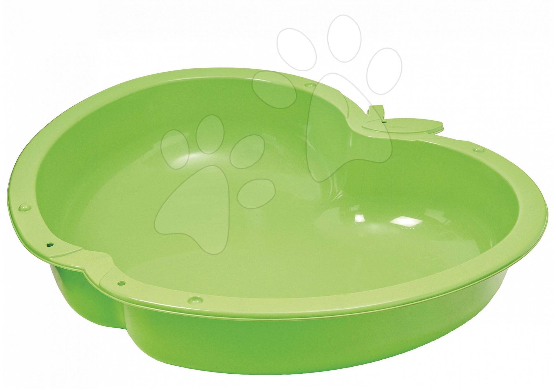Pískoviště pro děti  - Pískoviště Jablko Starplast objem 147 litrů zelené od 24 měsíců
