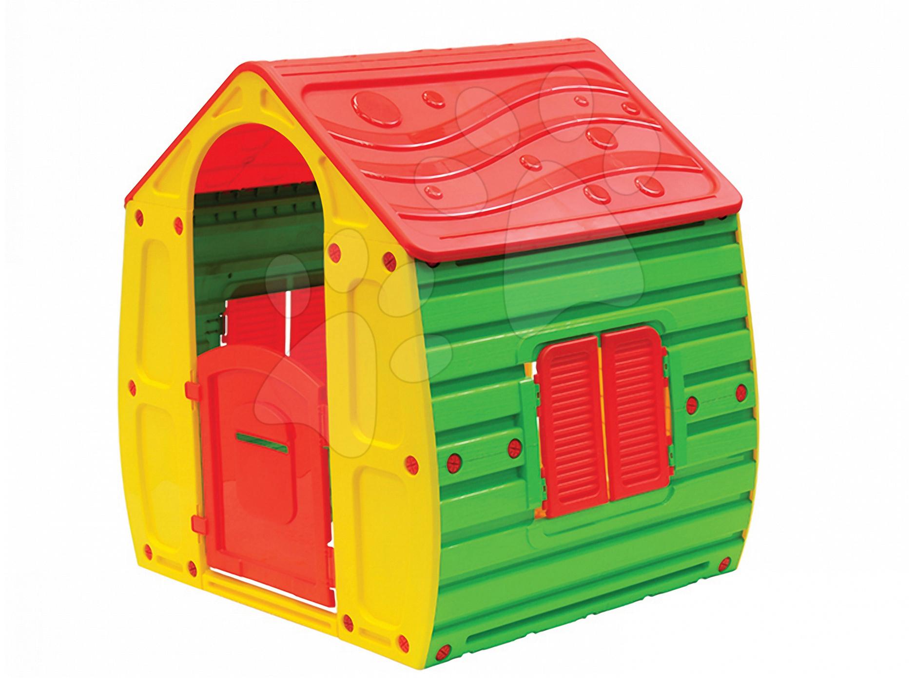 Domeček New Fairy House Starplast zeleno-žlutý od 24 měsíců