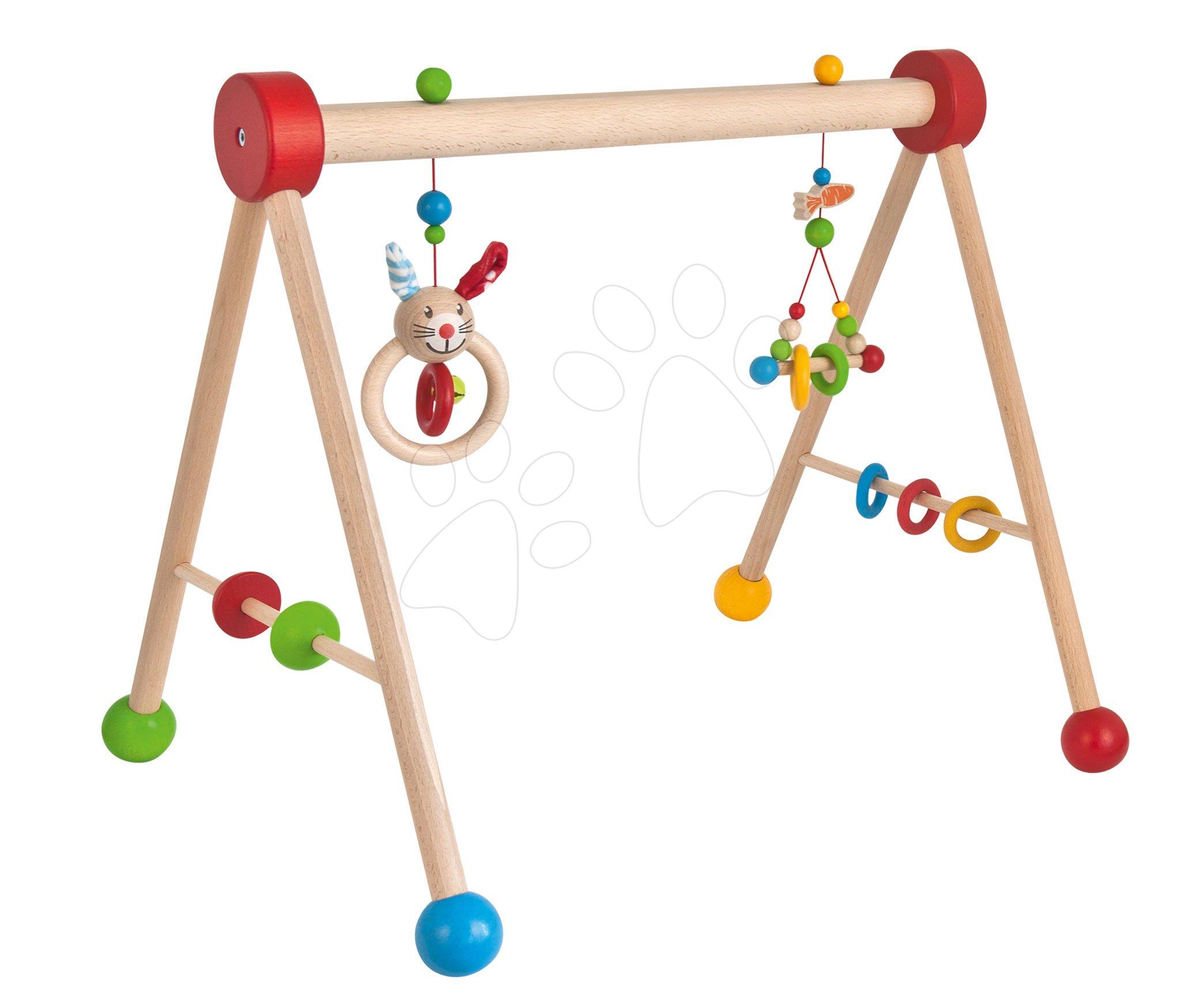 Dřevěná hrazda Baby Gym Eichhorn pro nejmenší od 3 měsíců