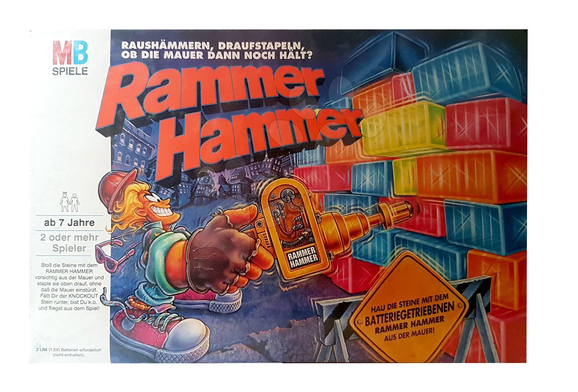 Spoločenská hra Rammer Hammer / Knockout od 7 rokov
