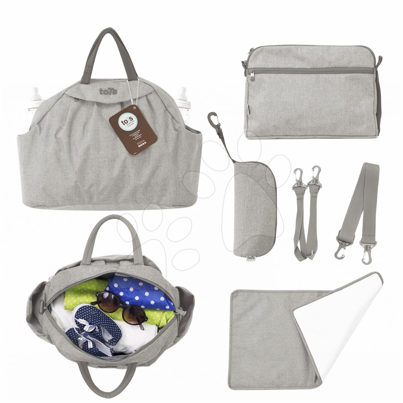 Prebaľovacia taška Chic 5v1 toTs-smarTrike s vnútornou taškou a termoobalom na fľašu béžová