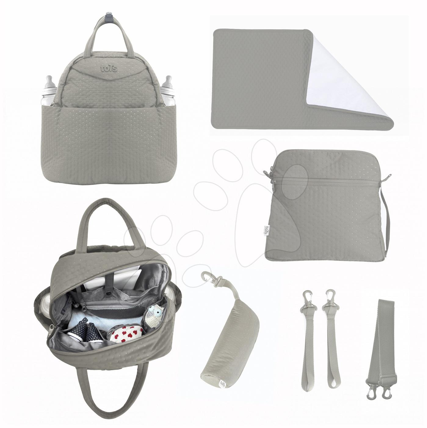 Přebalovací taška Infinity 5v1 toTs-smarTrike s vnitřní taškou a termoobalem na láhev béžová