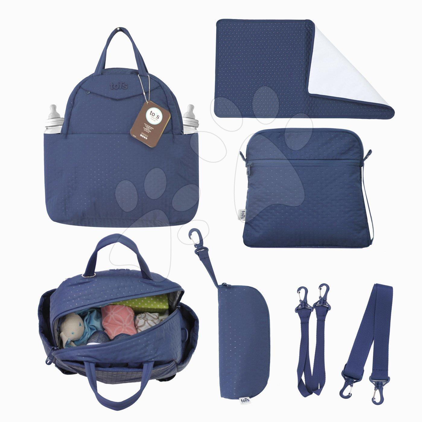 Přebalovací taška Infinity 5v1 toTs-smarTrike s vnitřní taškou a termoobalem na láhev modrá