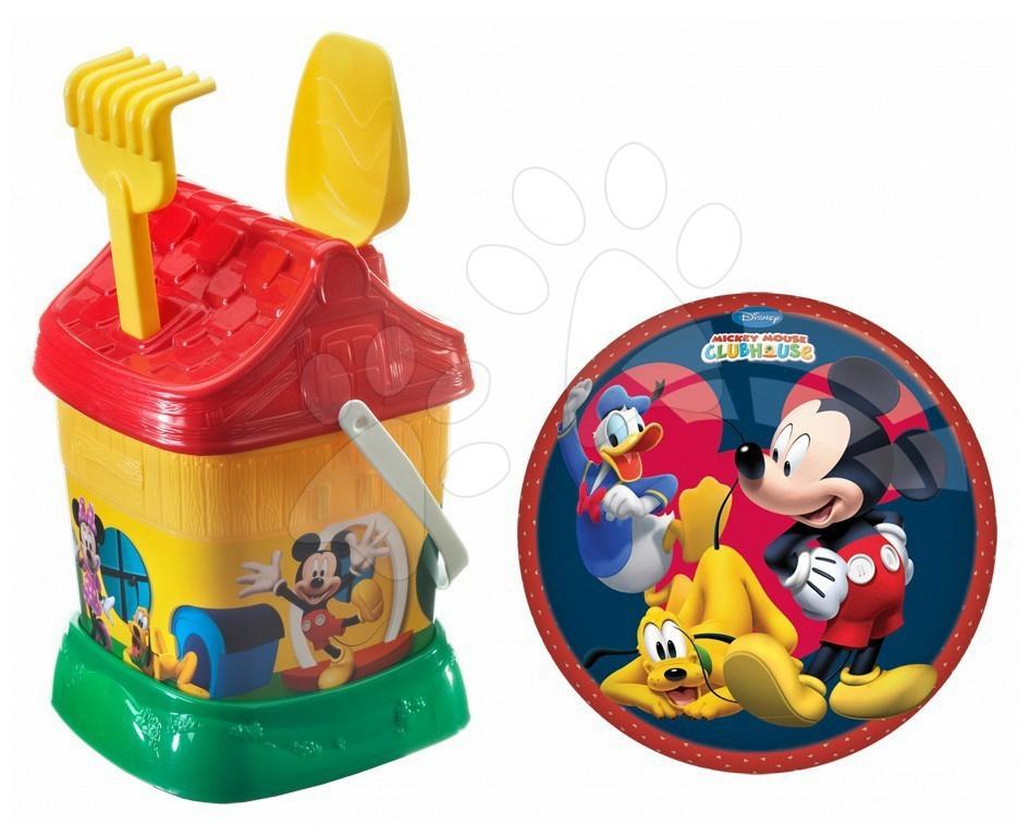 Staré položky - Vedro set Mickey Mouse Mondo s 23 cm loptou v taške