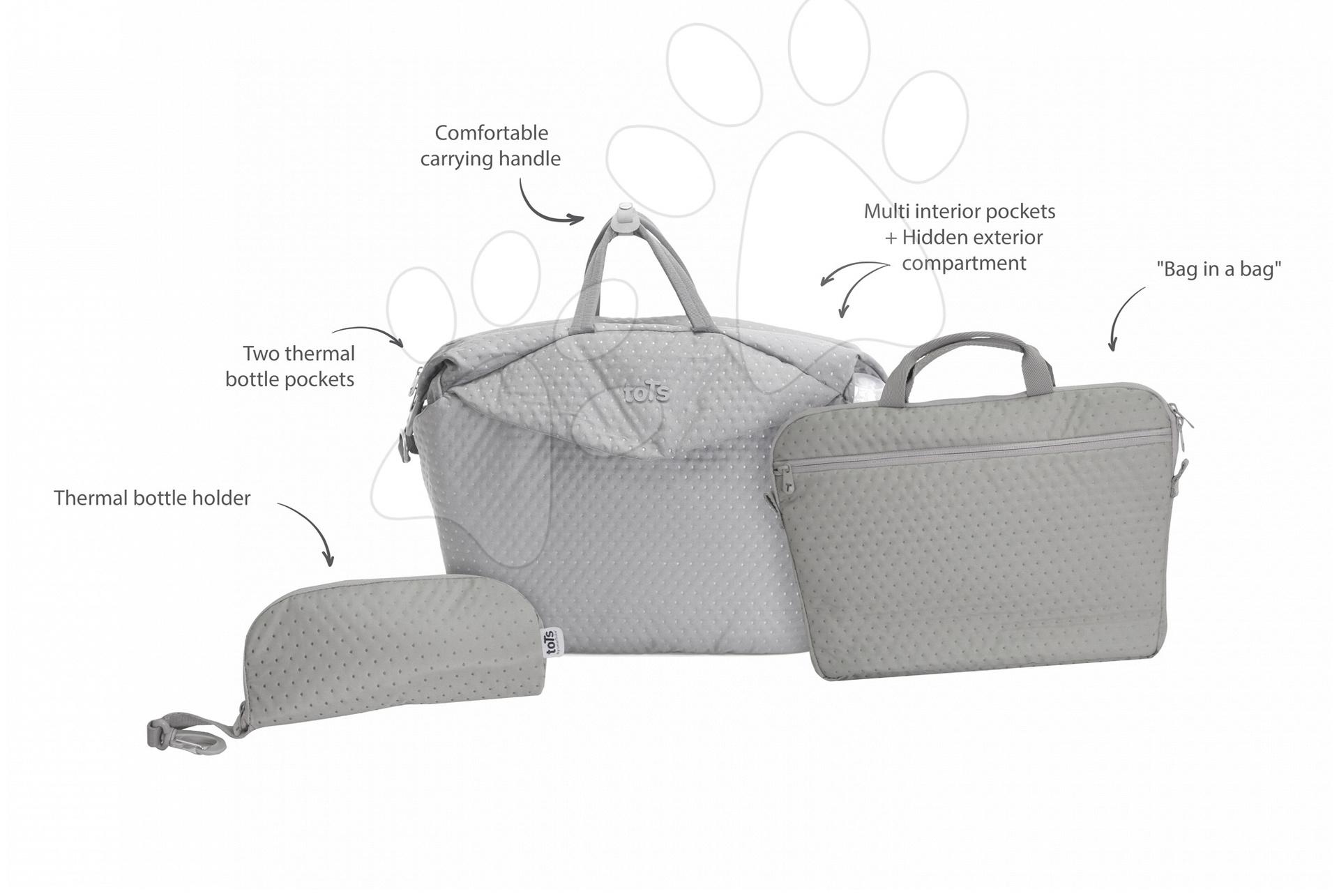Previjalna torba toTs-smarTrike Duet Extra 4v1 z notranjo torbico in termo ovitkom krem
