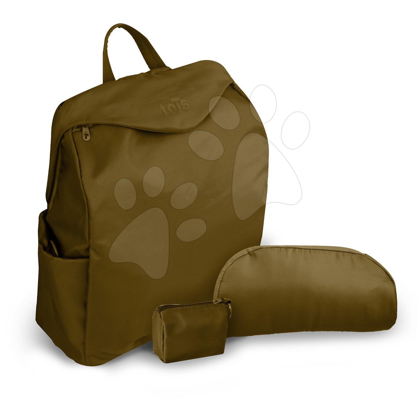 Previjalna torba toTs-smarTrike Posh zelena 3v1 vodoodporna s termoovitkom za stekleničko z dodatki