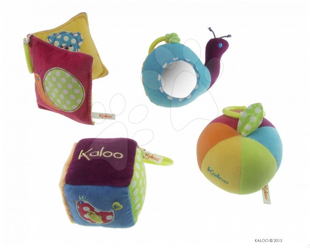 Plyšová hračka COLORS ACTIVITY Kaloo 13 cm z jemného měkkého plyšě v dárkovém balení