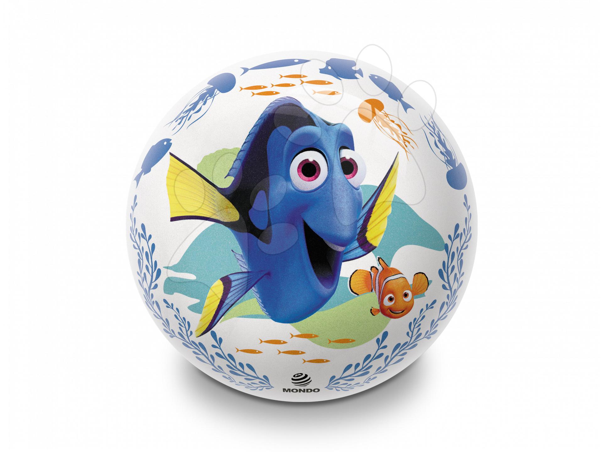 Pohádkový míč  Finding DORY Mondo gumový třpytivý 23 cm