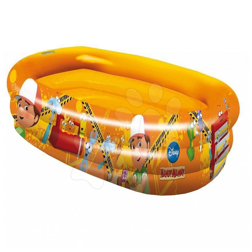 Dětské bazénky - Nafukovací bazén Handy Manny Mondo tříkomorový od 10 měsíců