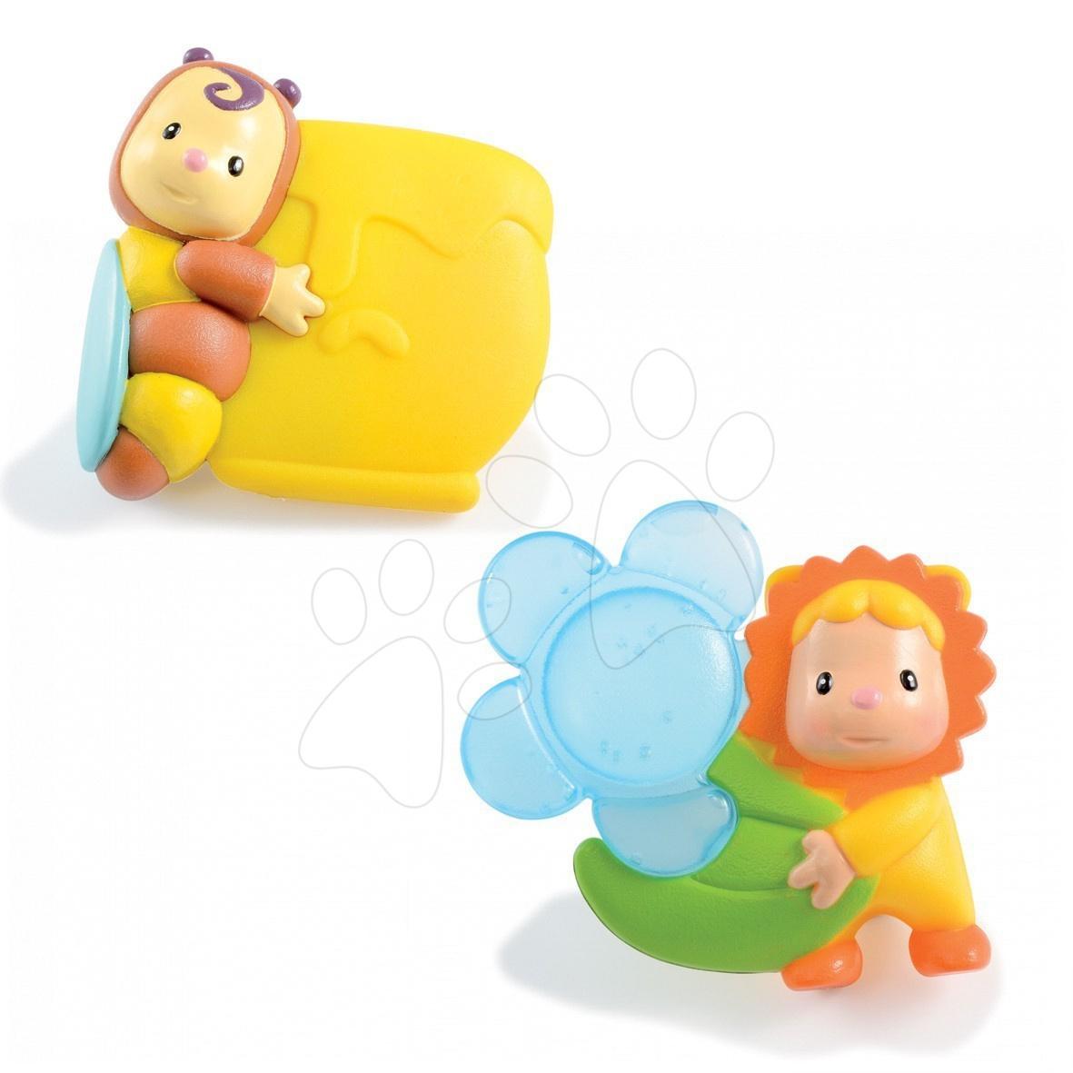 Staré položky - Hryzátka Cotoons Smoby s tekutinou pre kojencov 2 kusy